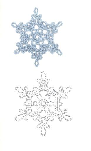 flocons de neige au crochet (1)